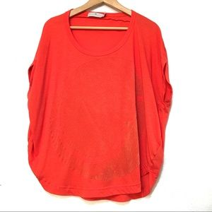 Stella McCartney for Adidas rounded top. Size M